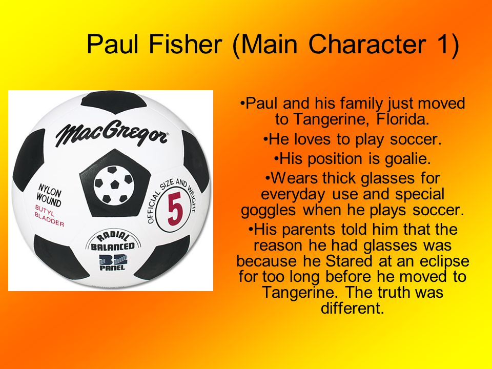 Paul Fisher (Main Character 1)