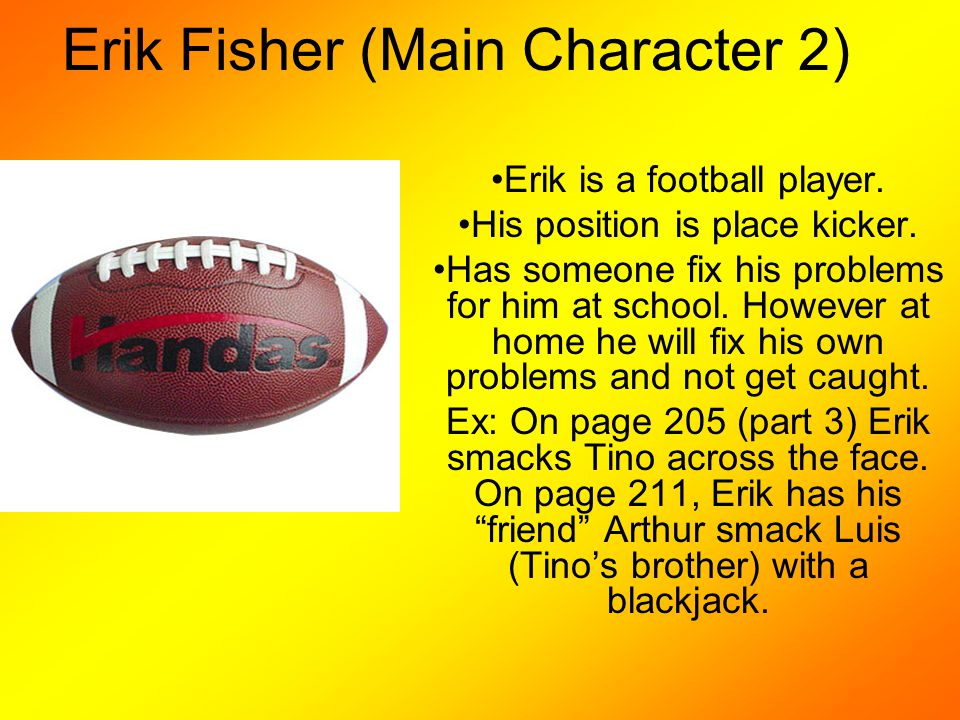Erik Fisher (Main Character 2)