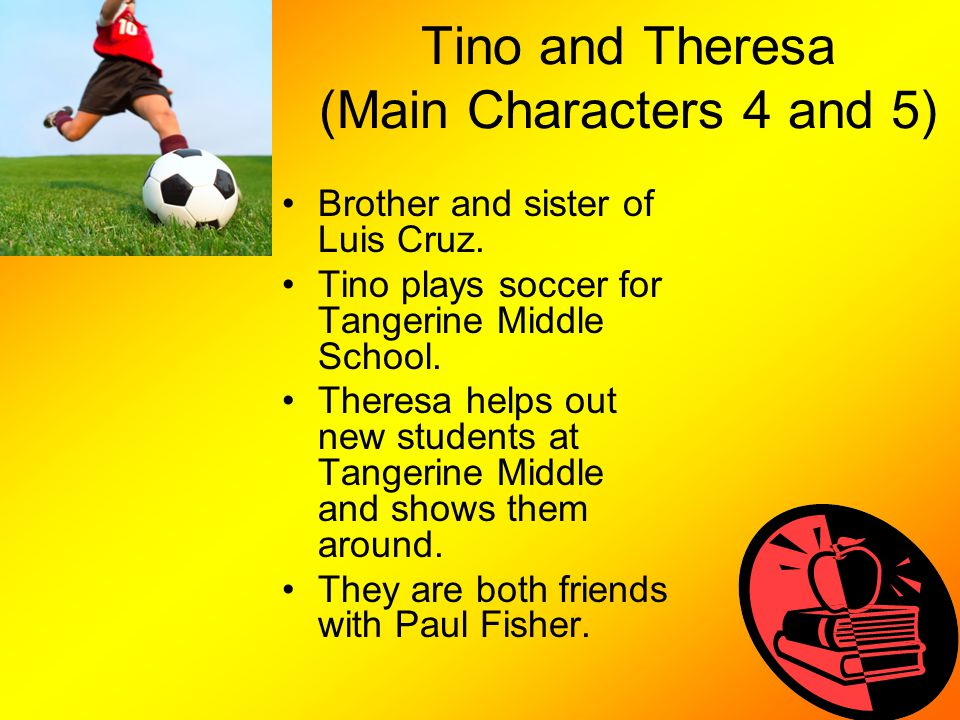Tino and Theresa (Main Characters 4 and 5)