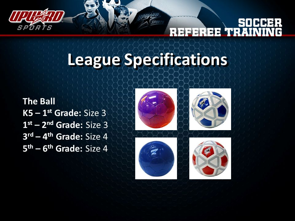 League Specifications