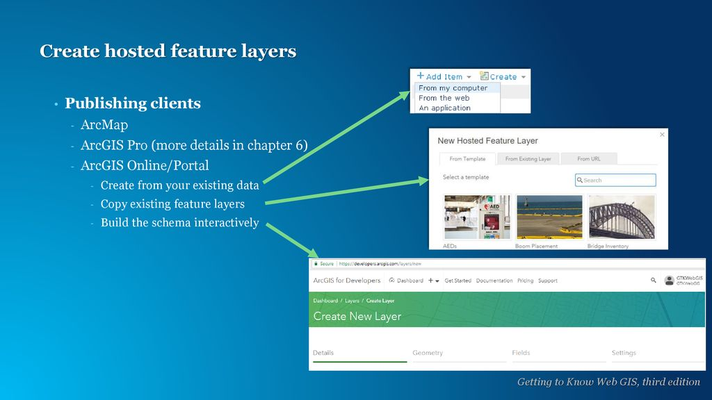 Hosted feature layers and Esri Story Maps - ppt download