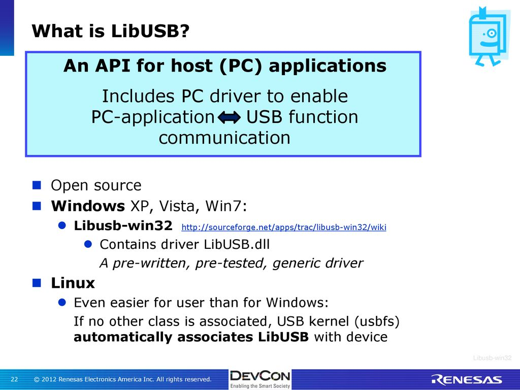LibUSB - Create a Solution Without the Class Struggle - ppt