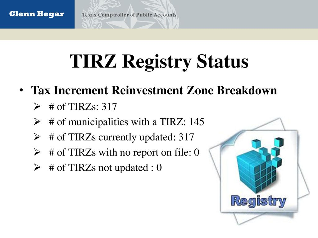 Tax increment reinvestment zone definition stark investments hedge fund