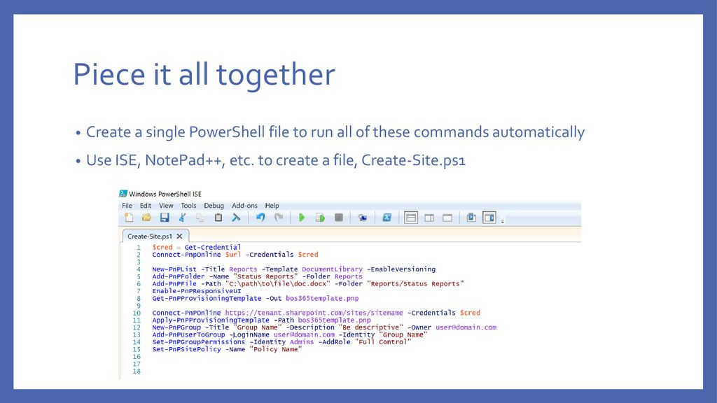 PowerShell and Office 365 IT Pro #AwesomeSauce - ppt download