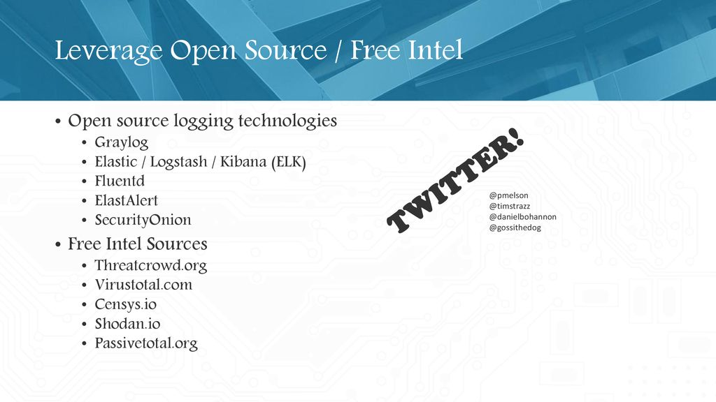 Workshop: Tracking Adversary Infrastructure - ppt download