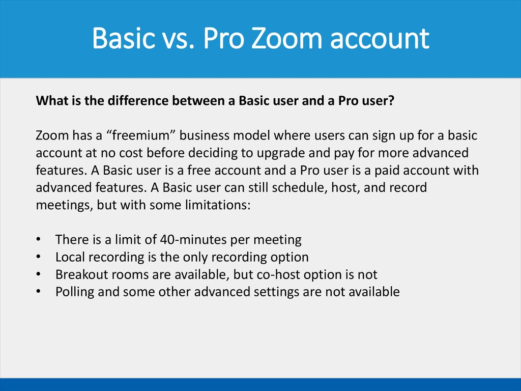 Zoom Host Training Fall ppt download