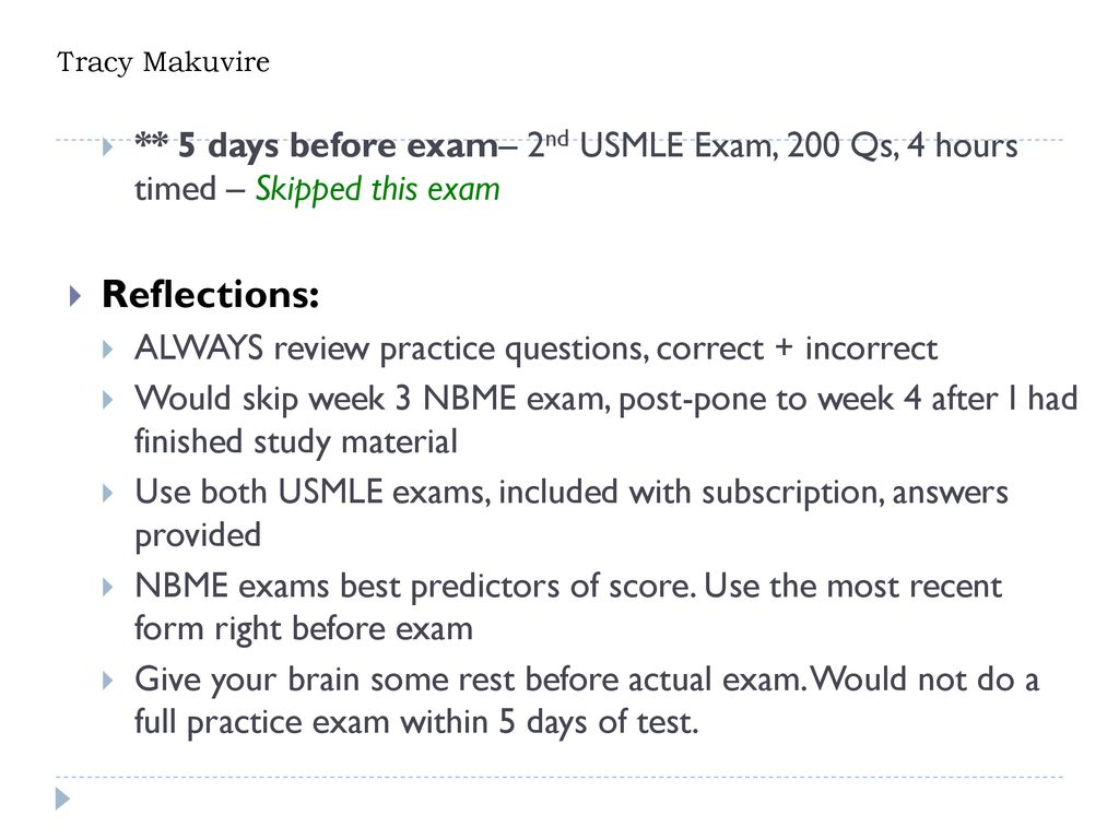 Nbme Step 3 Form 5 Answers