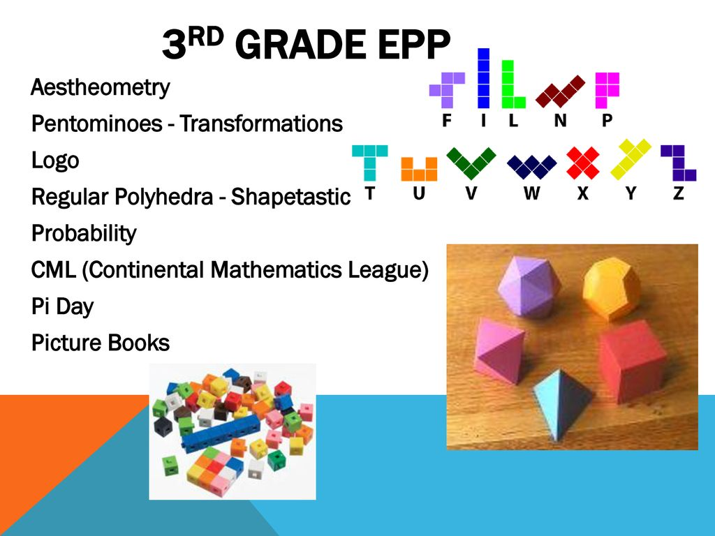 Welcome to EPP Math 3rd and 4th grade Curriculum Night