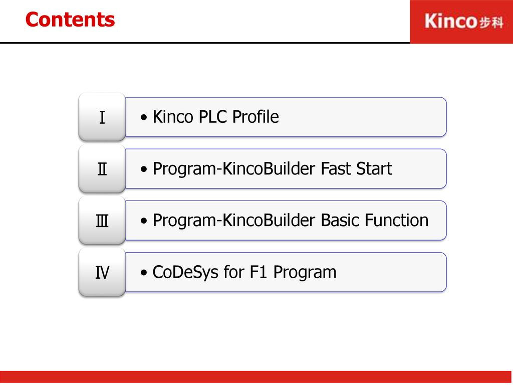 Kinco PLC Training Kinco Automation  - ppt download