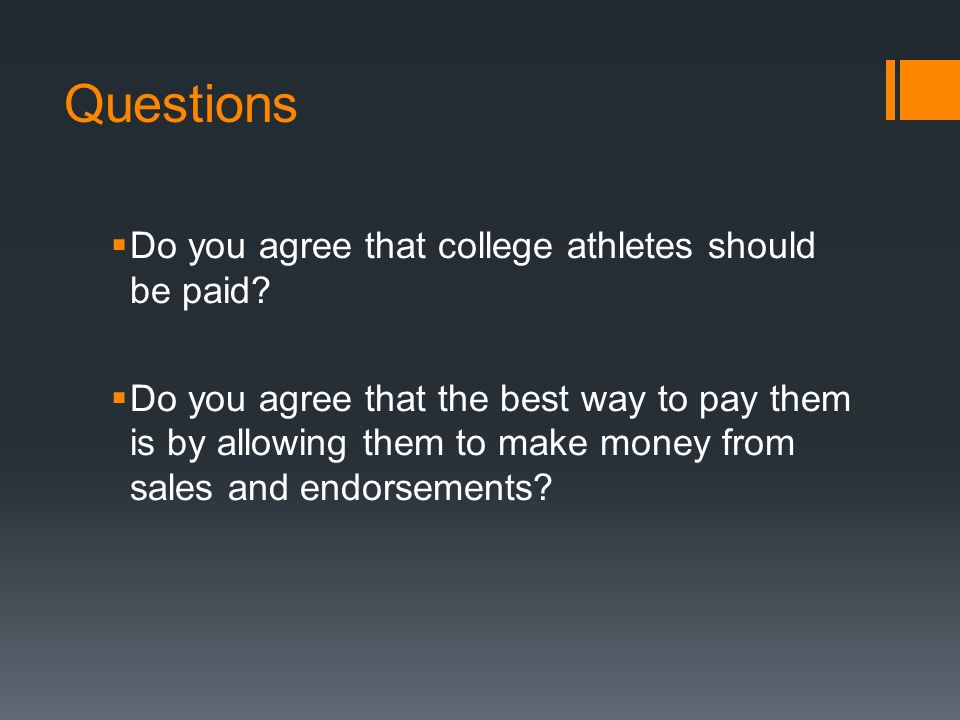 cons of paying college athletes