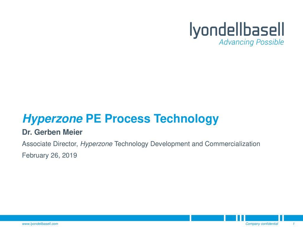 Hyperzone PE Process Technology - ppt download