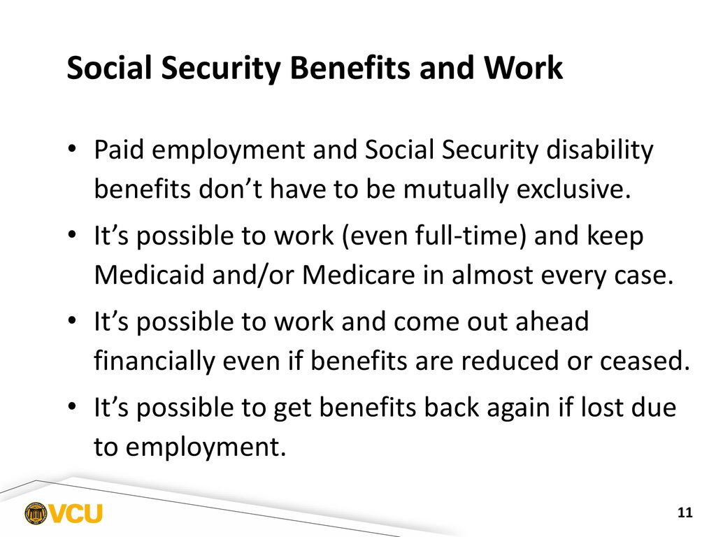 Social Security Disability Benefits and Transition Age Youth