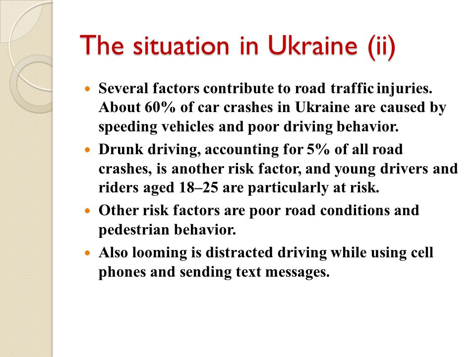 The situation in Ukraine (ii)