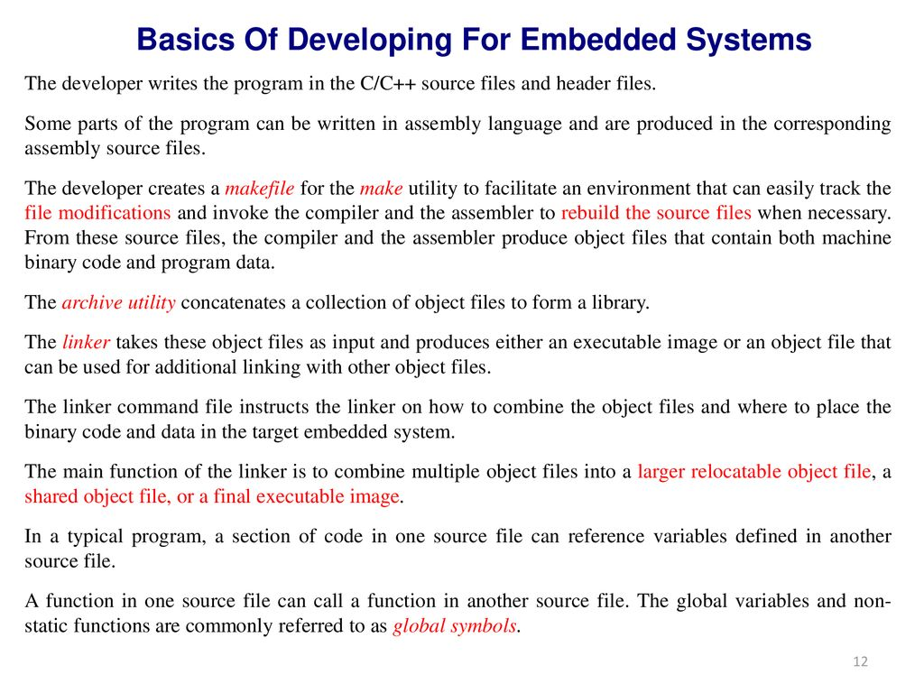 15EC323E-EMBEDDED SYSTEM DESIGN - ppt download