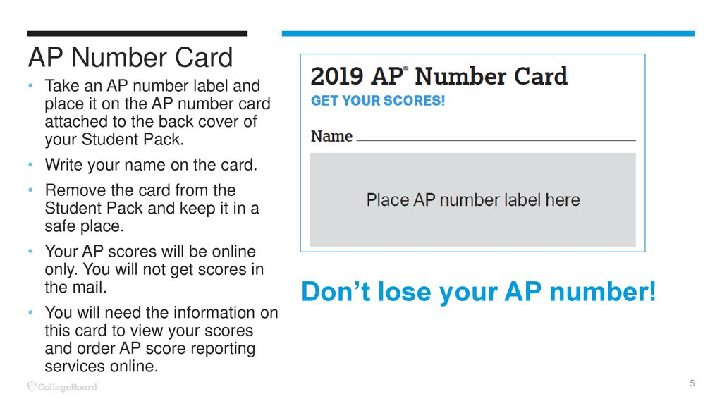 2019 AP® Preadministration Session - ppt download
