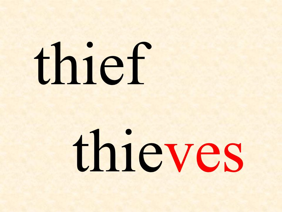 thief thieves