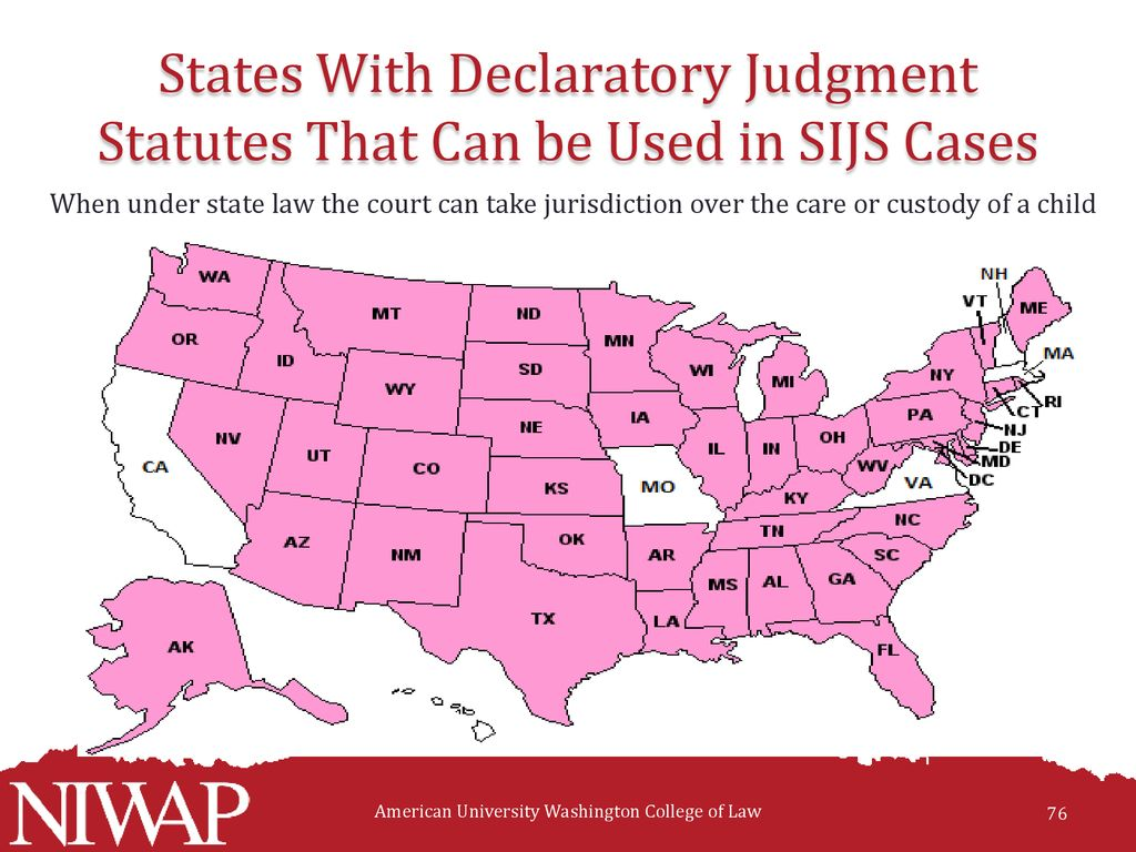 Protection of Immigrant Crime Victims and Children: State Court's