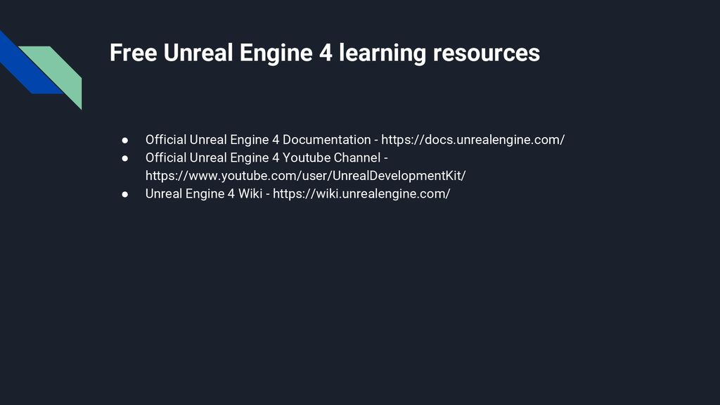 Introduction to Unreal Engine 4 Game Development Using Blueprint