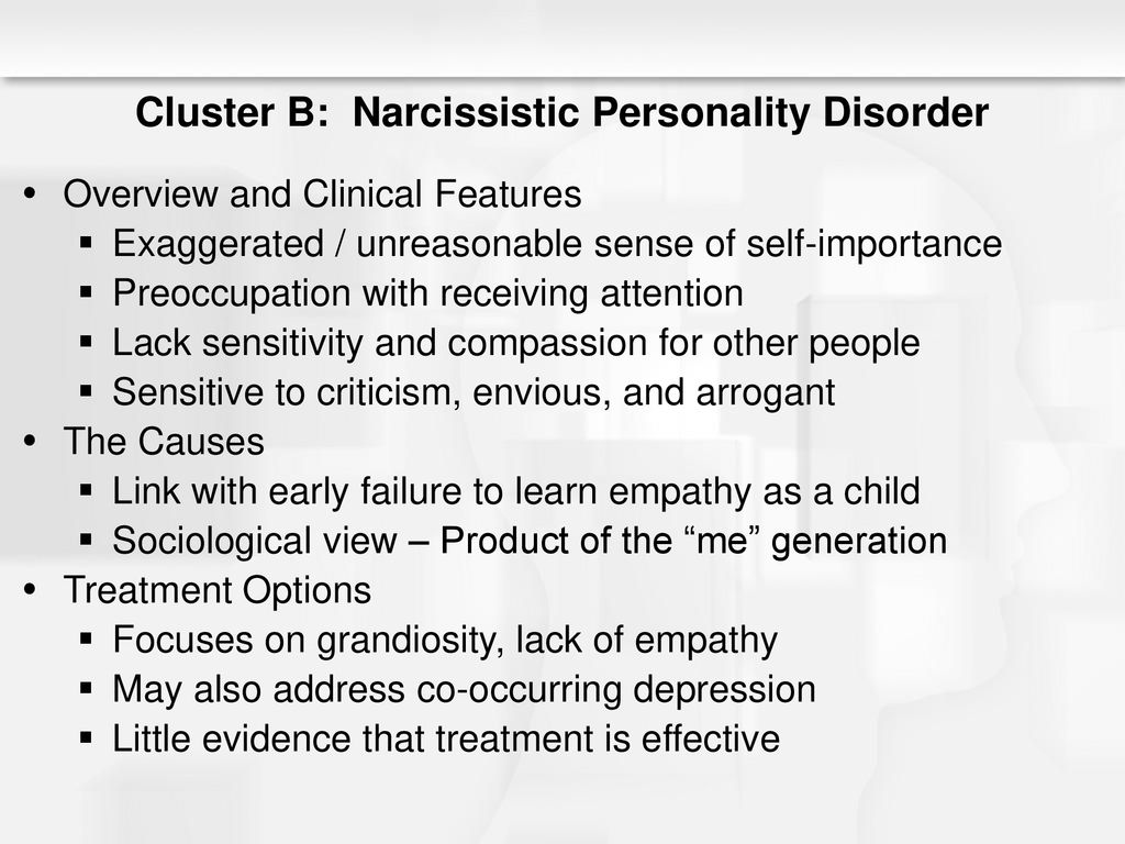 Chapter 11 Personality Disorders - ppt download