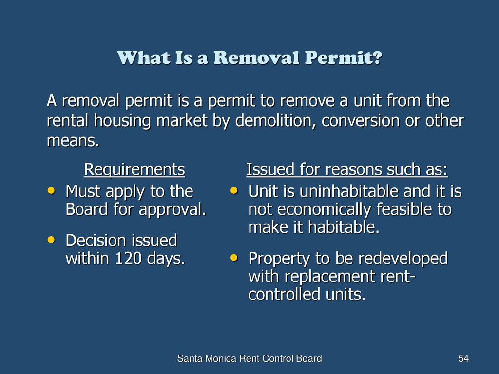 Owning Rent-Controlled Property in Santa Monica - ppt download