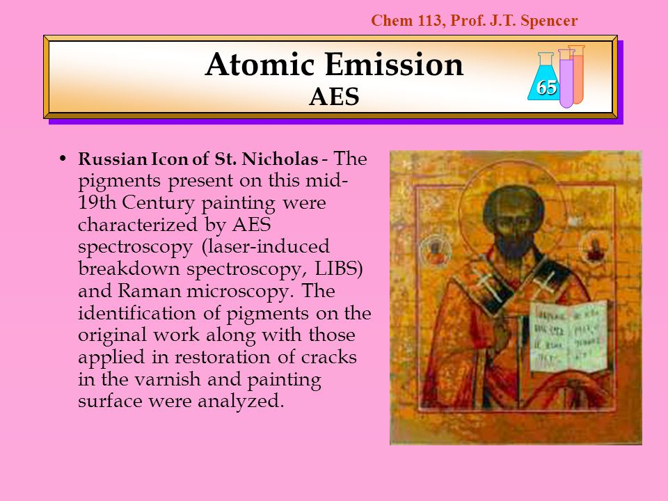 Atomic Emission AES