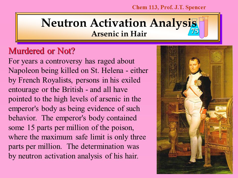 Neutron Activation Analysis Arsenic in Hair