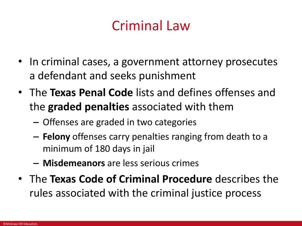 The Criminal Justice System in Texas - ppt download