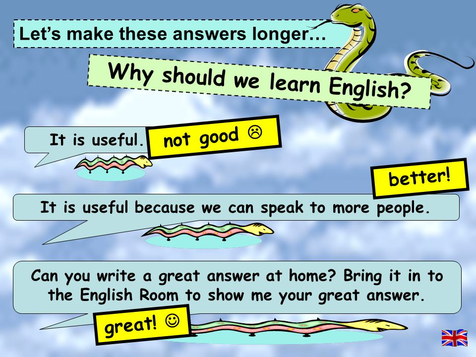 Why should we learn English