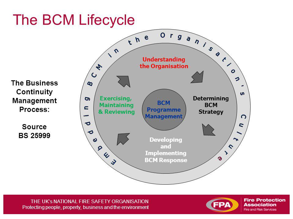 The Business Continuity Management Process: