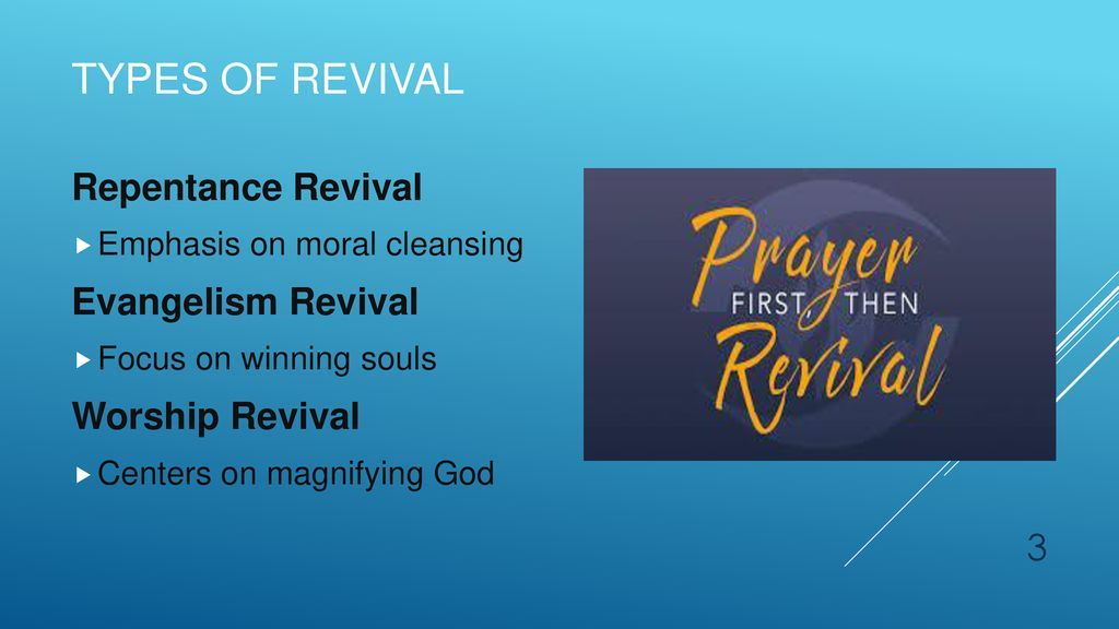 """Prayer and Revival """"A true revival means nothing less than a"""