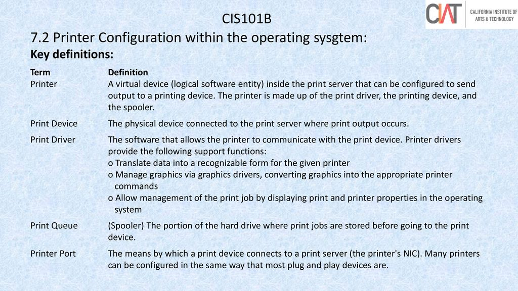 CIAT CIS101B Welcome to CIS101B Operating Systems  - ppt download