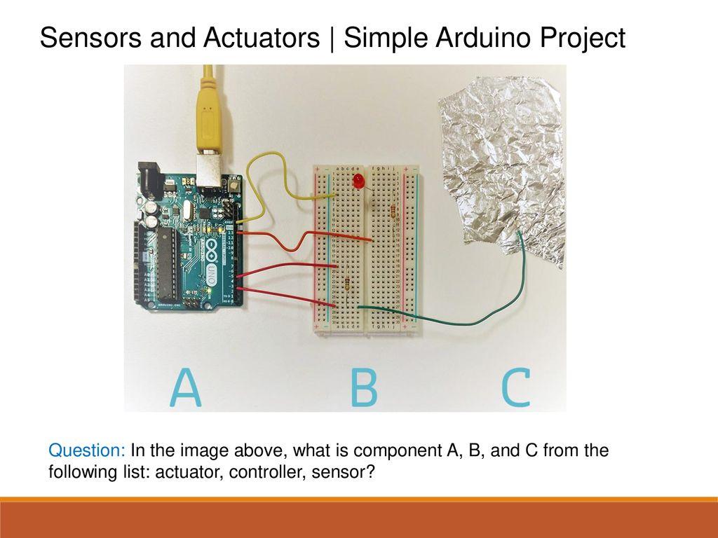 Arduino Sensors List