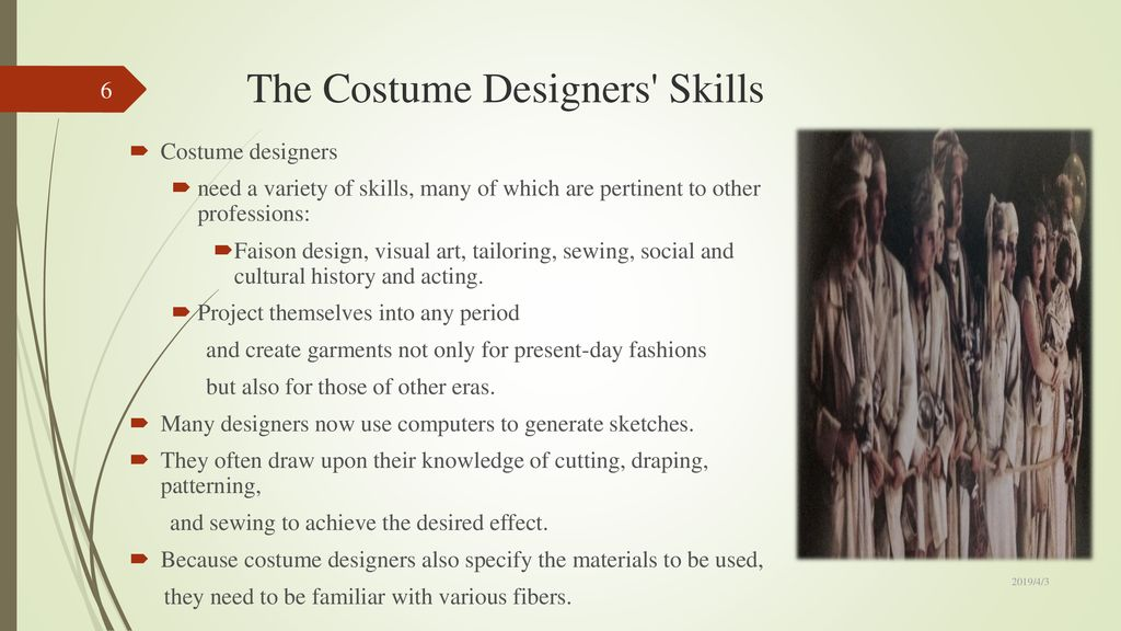 Ch16 Costume Design And Makeup Ppt Download
