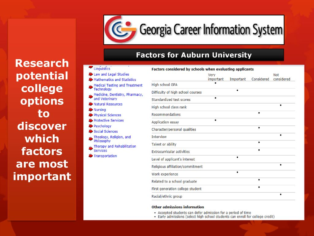 What are Colleges Looking For? - ppt download
