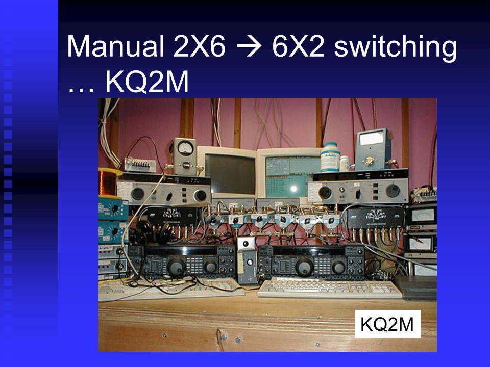 Manual 2X6  6X2 switching … KQ2M