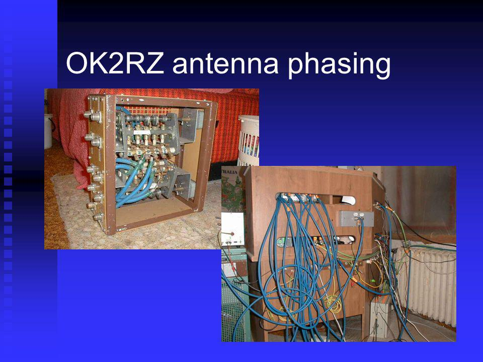 OK2RZ antenna phasing Surplus mechanical switch