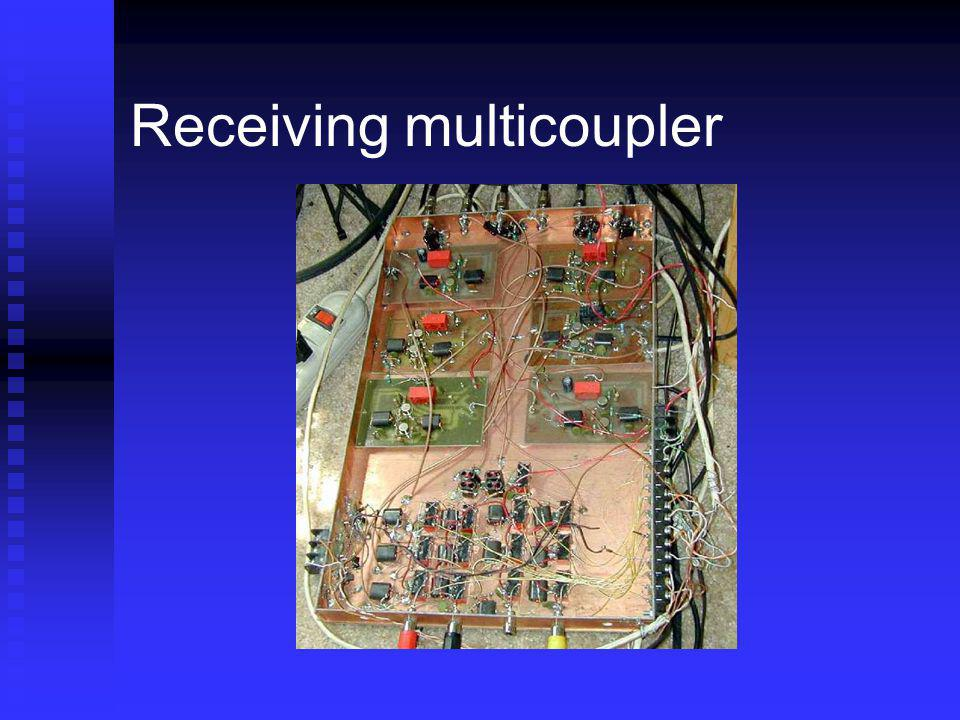 Receiving multicoupler