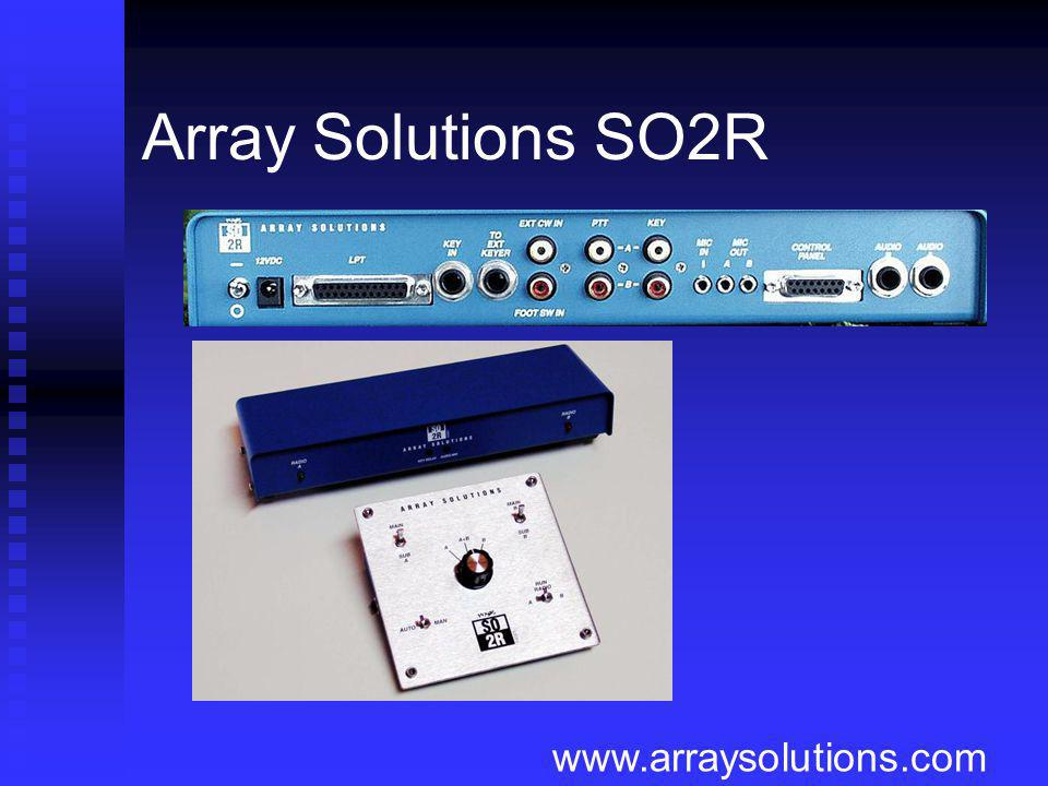 Array Solutions SO2R www.arraysolutions.com