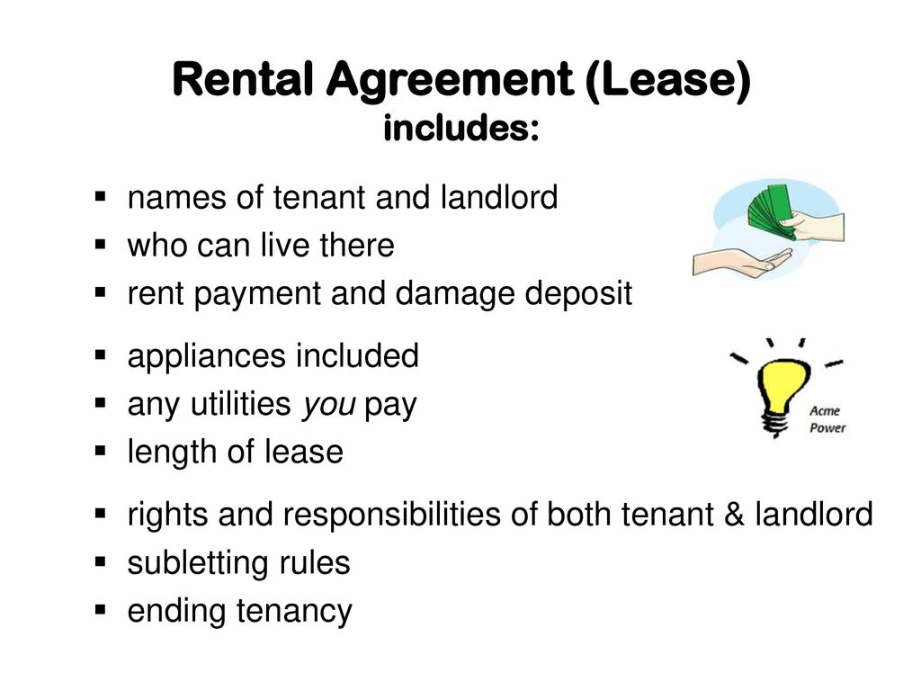 A Place To Call Home Tenant And Landlord Information Ppt