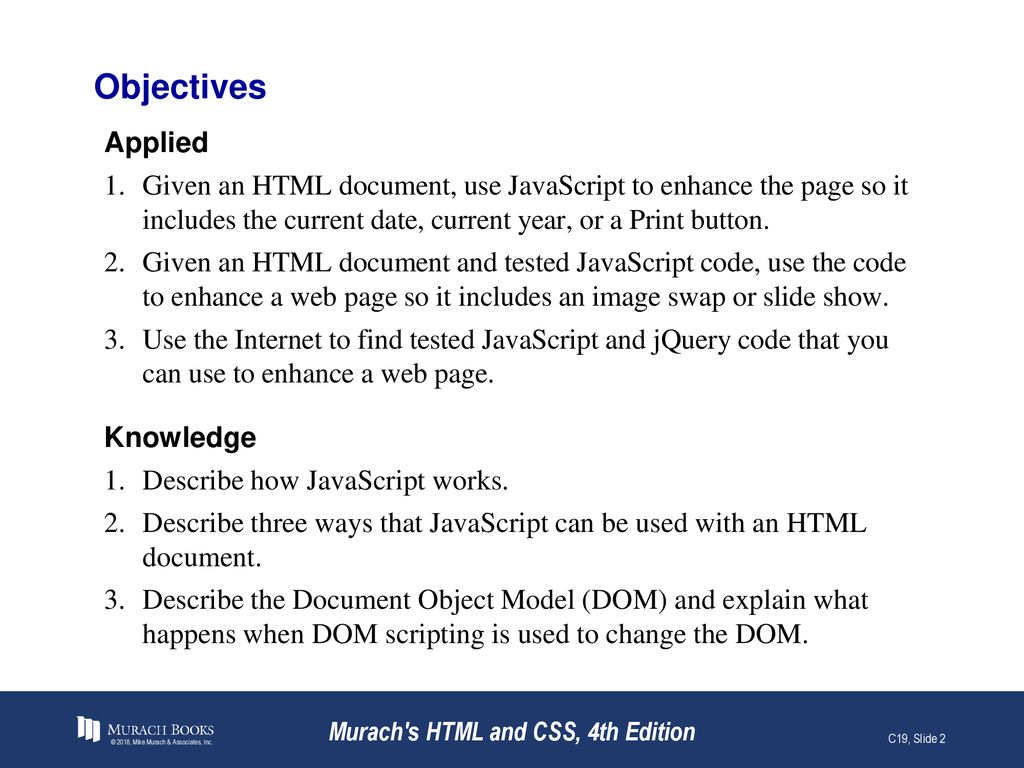How JavaScript and jQuery are used to enhance web pages