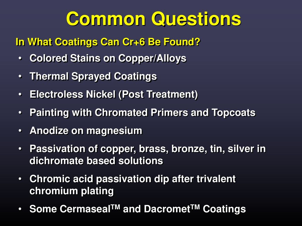 WEEE, RoHS, ELV, and hexavalent chromium - ppt download
