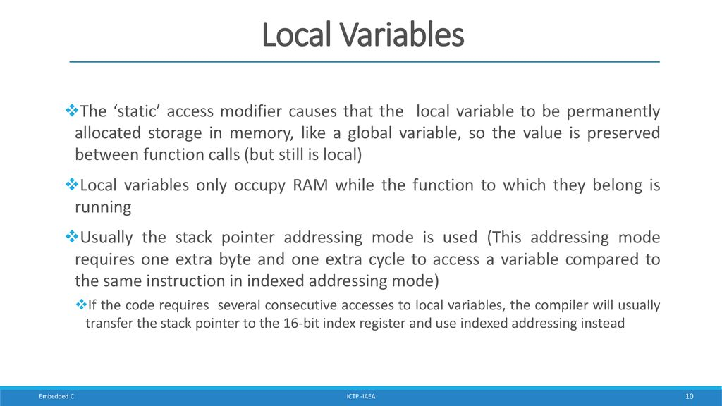 Embedded 'C' for Zynq Cristian Sisterna - ppt download