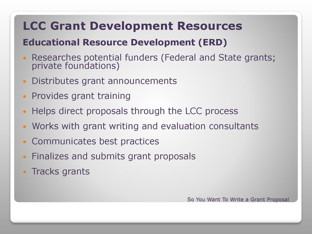 Writing A Grant—From Start To Finish - ppt download