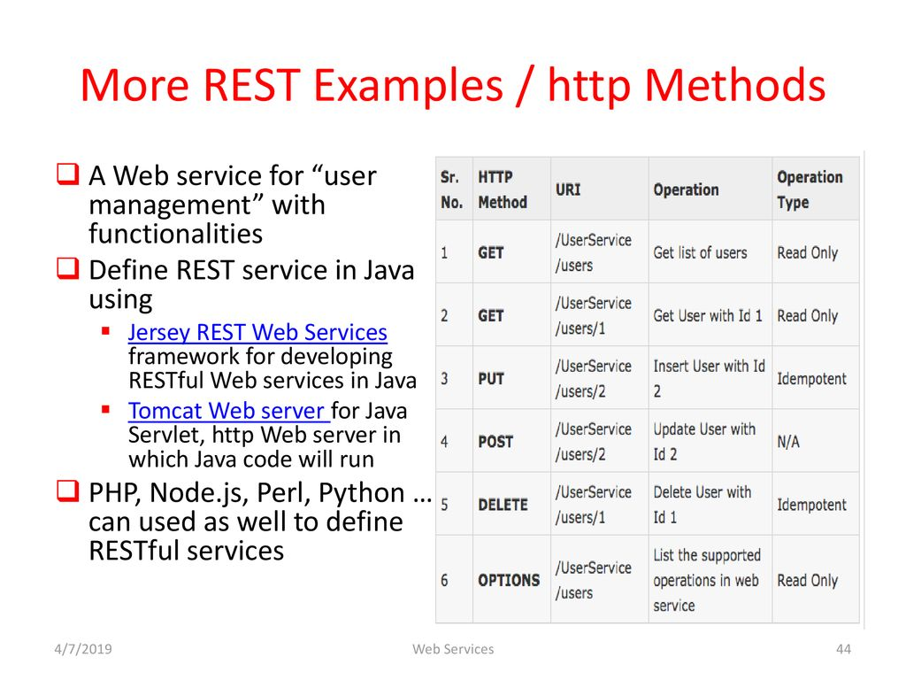 Web Services  - ppt download