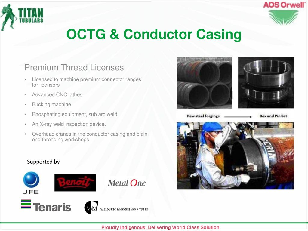 About Us Founded in st Oilfield Service Company with API & ISO 9001