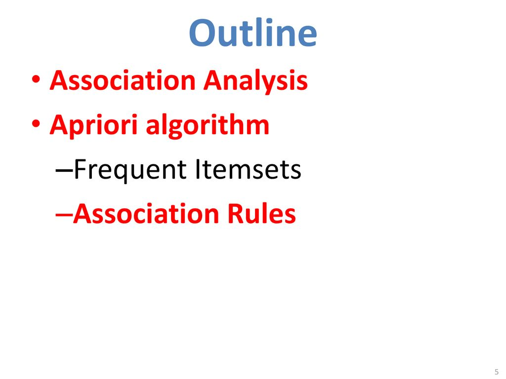 Unsupervised Learning: Association Analysis - ppt download
