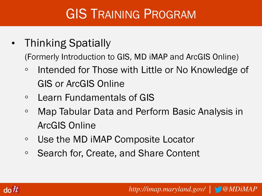 MD iMAP GIS Data Resources - ppt download