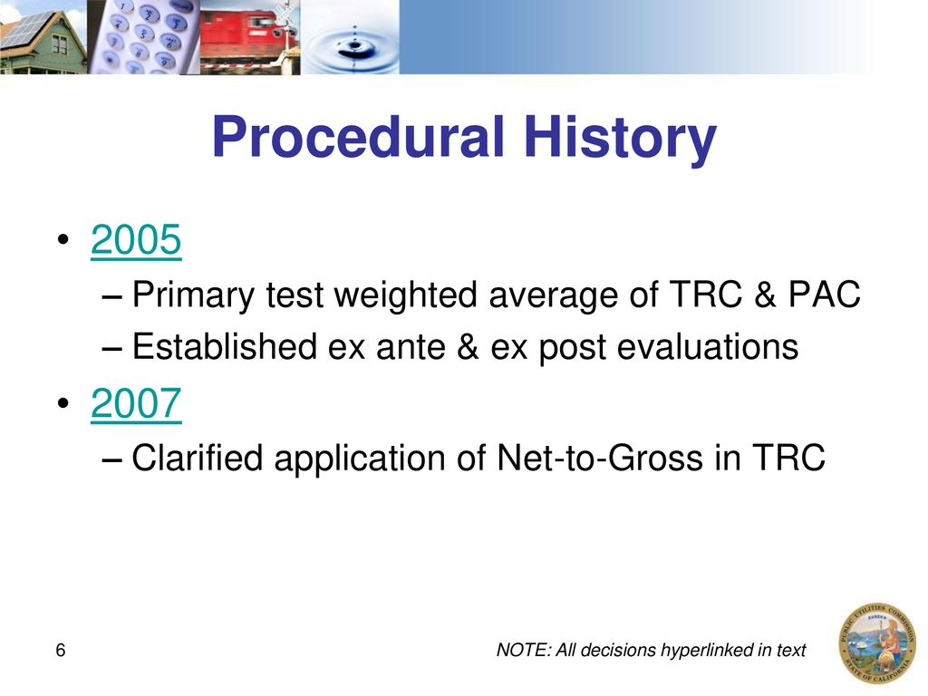 Regulatory History of Cost Effectiveness - ppt download