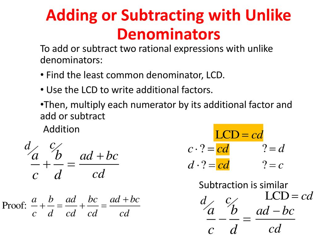 7 4 Adding And Subtracting Rational Expressions Ppt Download Addition of two rational expressions