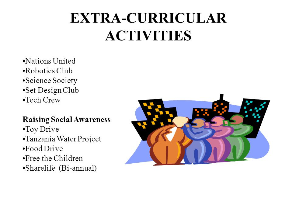 EXTRA-CURRICULAR ACTIVITIES